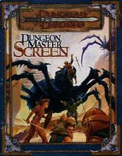 DUNGEON MASTER SCREEN EXC! Dungeons Dragons D&D Master's Master Tri-Fold Guide