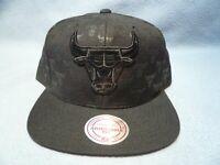 Mitchell & Ness Chicago Bulls Dark Repeater BRAND NEW Snapback cap hat NBA CHI