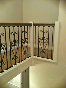 Wrought Iron Metal Stair/Staircase Spindles External Decking Balustrade Pickets