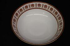 "Richard Ginori ERCOLANO RED/Orange Plume Pattern 11"" Footed Serving bowl, Italy"
