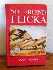 My friend Flicka by Mary O'Hara. Hardcover no Dust-jacket 1941?