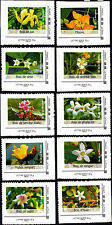 France 2014 Endemic Plants Flowers, Set of 10 Stamps Self Adh Ex booklet, MNH