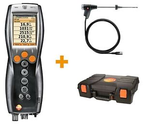 testo 330-1 LL Commercial Flue gas analyser set with Bluetooth Long Life sensors