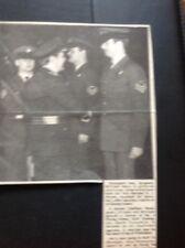 67-3 Ephemera 1974 Picture Ramsgate Sgt. William Moys Air Vice Marshall Furner
