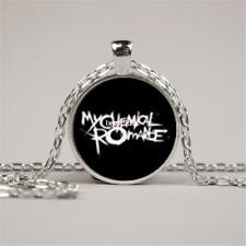 Glass Picture Necklace Rock Band My Chemical Romance Necklace zinc alloy pendant