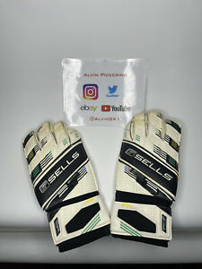 Sells Wrap Goalkeeper Gloves 2014 World Cup Edition Size 11