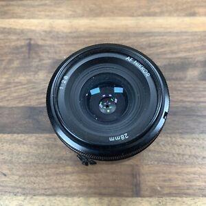 Nikon 28mm AF NIKKOR 1:2.8 autofocus lens