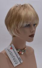 Gisela Mayer Perruque Contrast Look En Blond Doré Clair Lisse & Neuf