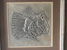 1976 Silver Franklin Mint The Chieftain By Gordon Phillips The Westerners Signed