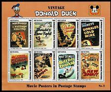 GUYANA - 1994 DONALD DUCK MOVIE POSTERS - UHM - Sc#2770 - DIS 33