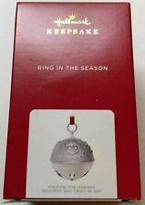 Hallmark 2021 Ring in the Season Santa's Expressions Bell Christmas Ornament New