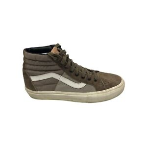 Vans Sk8 Hi MTE Brown Suede High Top Skate Shoe Mens 7.5 Womens 9 Scotchgard