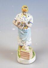Russische Porzellanfigur Bäuerin Porzellan FRAU UdSSR