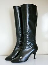 Quasi NEUF Botte cuir 36,5 FR VUITTON 5US 3.5UK Leather Boot Stivali Almost NEW