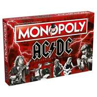 OFFICIAL AC/DC MONOPOLY TRADING TRADITIONAL FAMILY BOARD GAME NEW AND BOXED