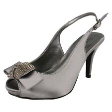 Ladies Anne Michelle Peep Toe Occasion Shoes