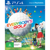 NEW PS4 Everybody's Golf Everybody Everybodys Game Playstation 4