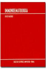 LIBRO  -  IMMUNOLOGIA -ENZO GAGIOLO -SOC. EDITRICE UNIVERSO -ROMA