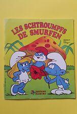 The Smurfs Panini Album stickers 1982 - COMPLETE - Belgium edition RARE