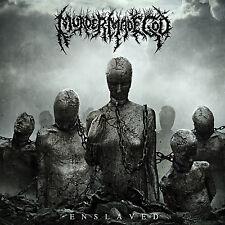 """MURDER MADE GOD """"Enslaved"""" death metal CD"""
