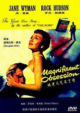"""NEW DVD """"Magnificent Obsession"""" Jane Wyman, Rock Hudson"""