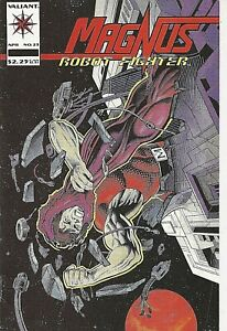 °MAGNUS ROBOT FIGHTER #23° USA Valiant Comics English 1993 John Ostrander