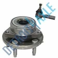 2 pc Kit NEW - Front Wheel Hub and Bearing Assembly + Outer Tie Rod End
