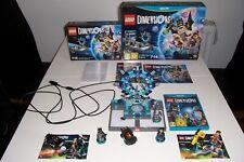 Wii U Lego dimensiones Starter Pack (100% Completo Con Figuras Extra jugado una vez