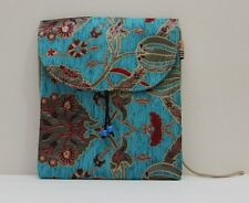 "Turkish Handbag Gobelin Fabric Made Purse 9.5""x9.5"" (007)"