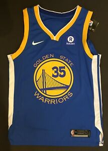 Kevin Durant Autographed Golden State WARRIORS FINALS Jersey