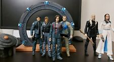 """Stargate Atlantis Series One from Diamond Select 7"""" Loose complete 6 figures"""