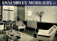 ENSEMBLES MOBILIERS 1937-1960. 18 tomes -  B
