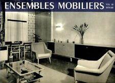 ENSEMBLES MOBILIERS 1937-1960. 18 tomes -  BP