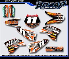 KTM-50 Graphics Decal Kit 2009-2010-2011-2012-2013-2014-2015