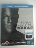 Jason Bourne (Steelbook) [Blu-ray] + Digital Download New