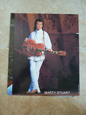 Marty Stuart 8x10 Country Music Fan Club Photo Picture P 00004000 age #3