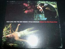 Kylie Minogue / Nick Cave Where The Wild Roses Grow Aust Digipak CD Single