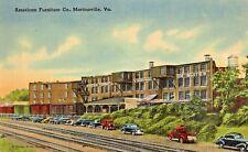 American Furniture Company in Martinsville VA OLD