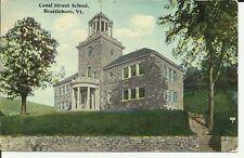 Brattleboro,Vt., Canal Street School