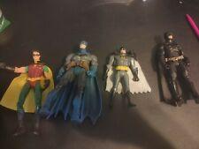 Assorted Batman Figures Lot Of 4
