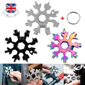 Snowflake Multi Tool 18In1 Snow Flake Steel Shape Flat Cross Screwdriver Tool