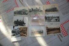 CARTES POSTALES ANCIENNES sur les locomotives à vapeur Française