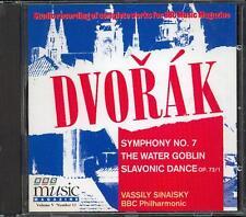 DVORAK - SYMPHONY No 7 + THE WATER GOBLIN / BBC PHILHARMONIC / VASSILY SINAISKY
