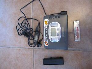 Sony Walkman Wm-fx615 Mega Bass Personal Radio Cassette Player Am/fm