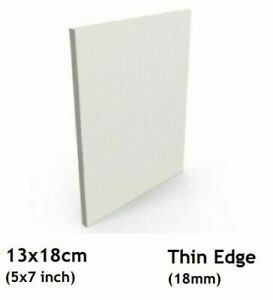"""Blank Thin Edge Stretched Canvas for Embroidery/Painting Frame 13x18cm/5x7"""" Inch"""