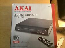 A51002 Akai Compacto Reproductor De Dvd Usb. nuevo, nunca usado todavía en su embalaje original.