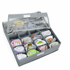 3PCS Underwear Bra Socks Ties Divider Closet Container Storage Box Organizer LL