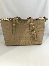NWT Brahmin Mini Asher Twill Leather Melbourne Tote