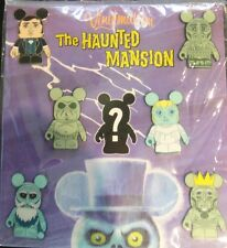 DISNEY Vinylmation The Haunted Mansion Collectors 7 Pin Set-Sealed-NOC-Pin#86808