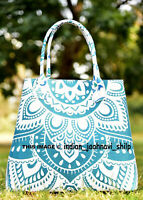 Multi Indian Handbag Tote Bag Mandala Shoulder Women Satchel Cotton Purse Lady